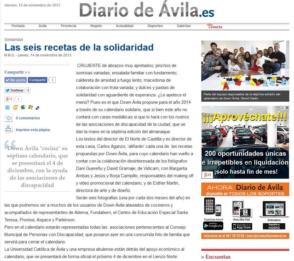 diario de Avila down